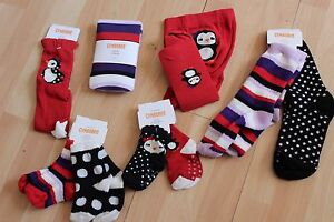GIRLS-GYMBOREE-SOCKS-TIGHTS-WINTER-PENGUIN-SZ-0-6-12-24-MONTHS-2T-3T-3-4-5-7