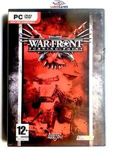 Warfront-Turning-Point-PC-Neuf-Scelle-Retro-Videogame-Videojuego-Scelle-Nouveau