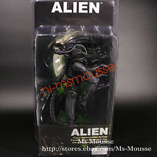 Alien Xenomorph Warrior Transparent Skull Model 8 inch PVC Action Figure NECA