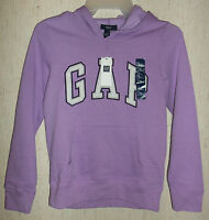Girls Gap Kids Pretty Jasmine / Light Purple Hoodie Size L (10-11 Years)