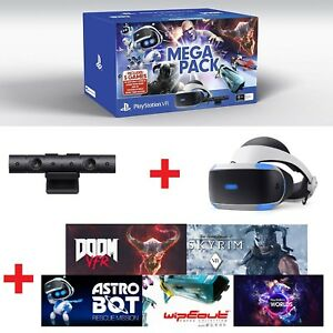 Sony-Playstation-VR-Headset-PS-VR-PSVR-Virtual-Reality-Mega-Bundle-With-5-Games