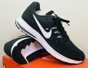 edd1d00290aa5 New Nike Zoom Winflo 2 Size 7.5 Mens Running Shoes Black White