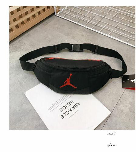 Travel Bum Bag Fanny Pack Men Women Zipped Outdoor Sports Waist Shoulder Pouch