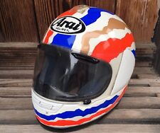 Arai Quantum Mick Doohan Replica Racing Motorcycle Helmet Snell DOT - Size Small