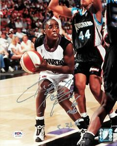 Ruthie-Bolton-Signed-8x10-photo-WNBA-PSA-DNA-Autographed-Monarchs