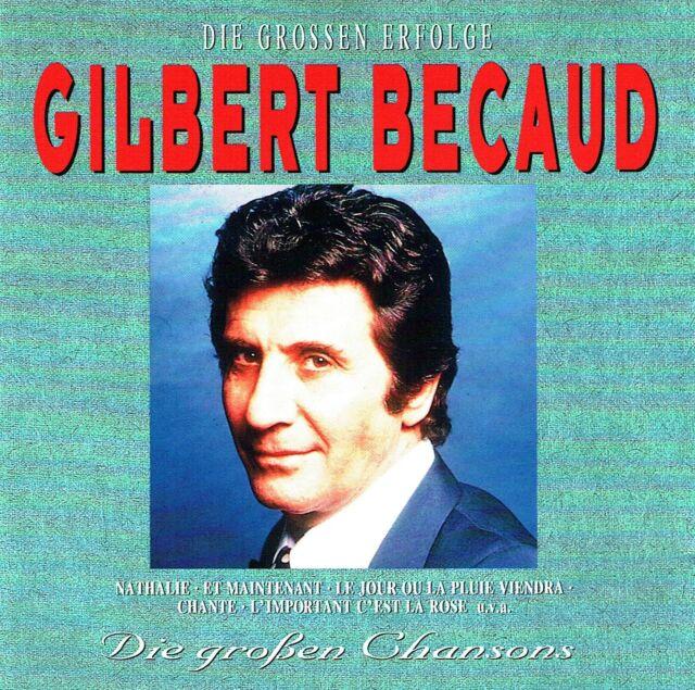 (CD) Gilbert Bécaud - Die Großen Erfolge - Die Großen Chansons - Nathalie, u.a.