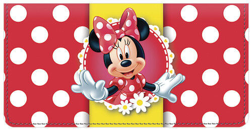Minnie Mouse Leather Cover for Duplicate Checks