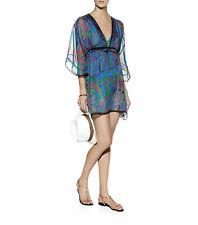 BNWT Gottex Luxury Silk Sierra Kaftan Cover Up Size Small UK 8 10 12 RRP £230