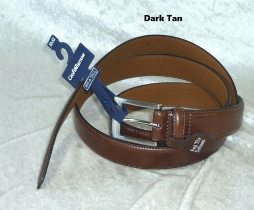 Croft Barrow Feather Edge Belt Tan Big Tall size 46-48 50-52 NEW