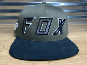 fashion lace up in the best Fox Possessed Snapback Hat Cap Olive Green Black SZ OSFA ( S22000 ...
