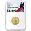 2019-W-UNC-5-Gold-American-Legion-100th-Ann-NGC-MS70-FDI-Flag-Label thumbnail 1
