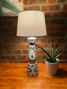 Hand-Crafted-Pull-Chain-Lamp-Clase-Azul-Reposado-Tequila
