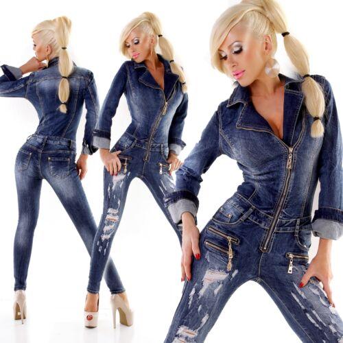 8 14 Clubbing Jeand Blu 6 Ladies Skinny Tuta 10 Tuta Destroyed Donna Taglia 12 qAB1HwZnx