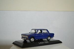 legendary cars lada 1500 blu blue fiat 124 1 43 die cast. Black Bedroom Furniture Sets. Home Design Ideas