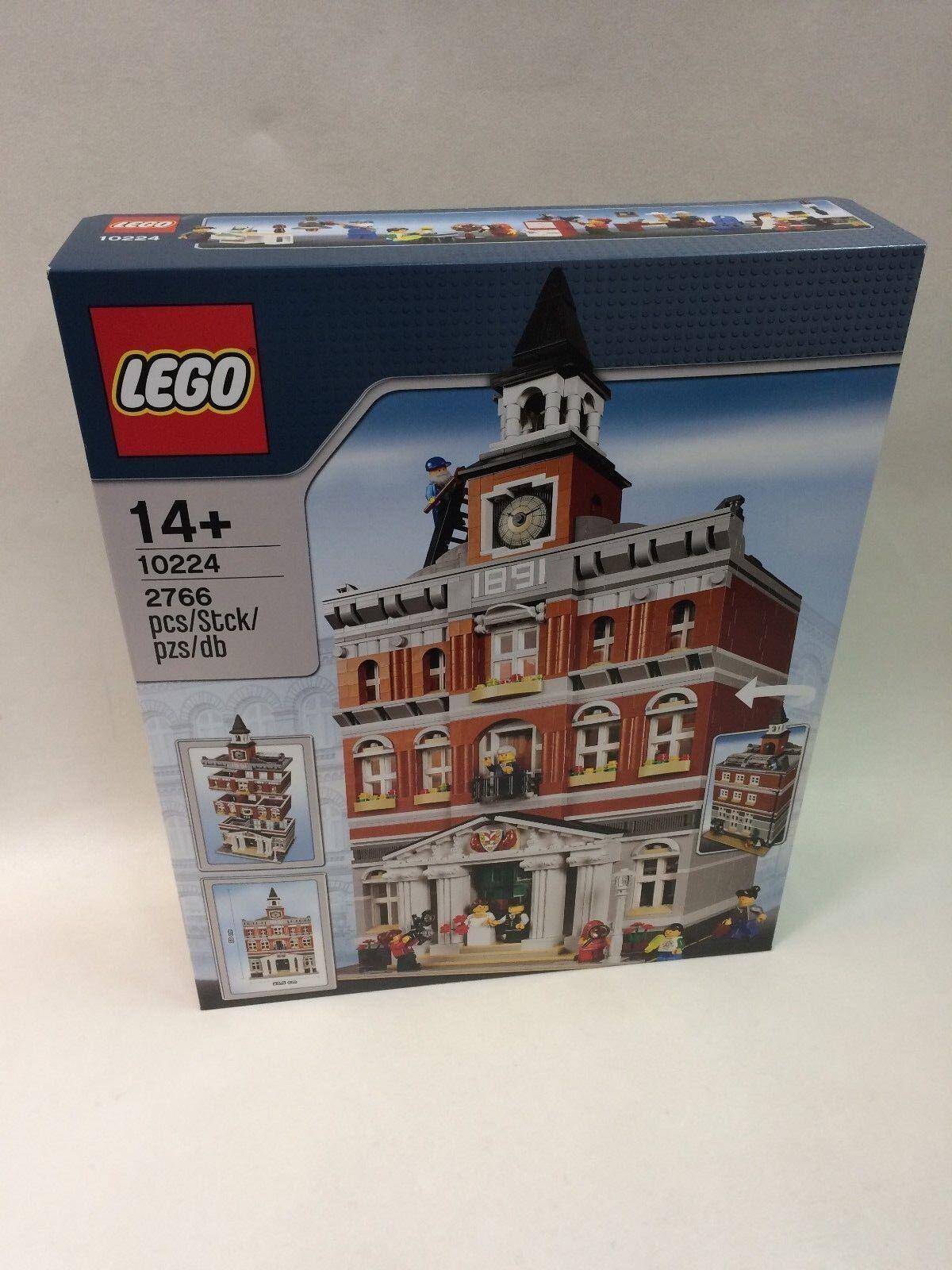 Neuf Scellé LEGO 10224 Town Hall Comme neuf CONDITION