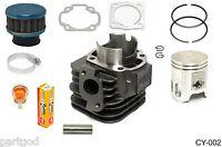 Cylinder Piston Ring Gasket Clip Pin Kit For Polaris 90 Sportsman 90cc 2001-2006