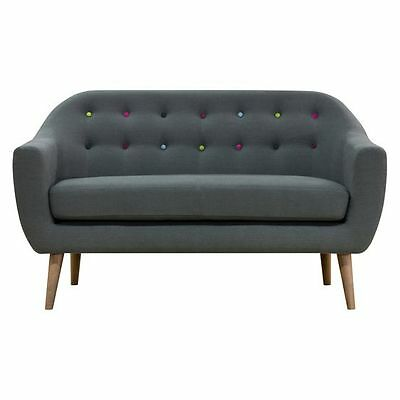 NEW Zanui Maja Dark Grey 2 Seater Sofa