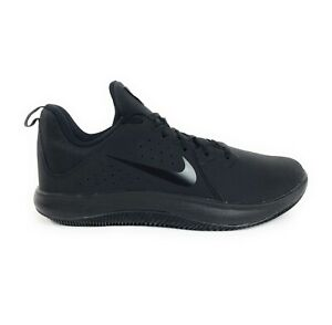 Nike-Mens-Fly-By-Low-Nubuck-Triple-Black-Anthracite-Shoes-Size-8-AO2254-001