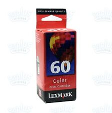 Genuine Lexmark 60 Color Ink Cartridge Z32 Z12 Z22 Compaq IJ600 - Retail Box