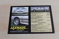 148127) Opel Omega A - Lexmaul - Prospekt 198?