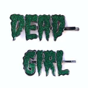 Kreepsville-666-80s-90s-Gothic-Horror-Zombie-Punk-Dead-Girl-Hairslide-Hair-Clips