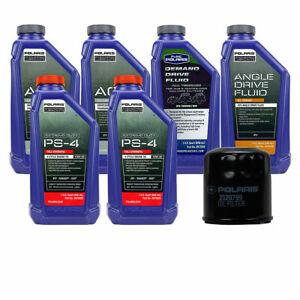 Polaris Oil Filter Change Kit 09 18 Sportsman 570 Xp 550 850 1000 Extreme Ebay