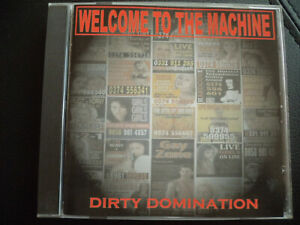 Welcome-to-the-machine-Dirty-Domination-CD-1998-German-Rock