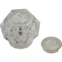 Replacement For Nibco/phoenix Hot/cold Faucet Handle - Clear