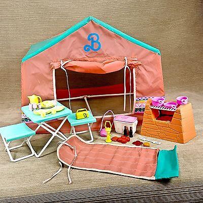 Barbie Western Fun C&ing Play Set Tent Grill Cooler Sleeping Bag Vtg Mattel & Barbie BaRbiE BARBIE! collection on eBay!