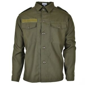 Original-Austrian-BH-army-combat-shirt-military-olive-green-BDU-Field-NEW