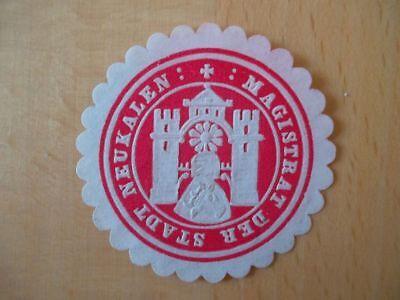 Suche Nach FlüGen Magistrat Der Stadt Neukalen 15043 Siegelmarke