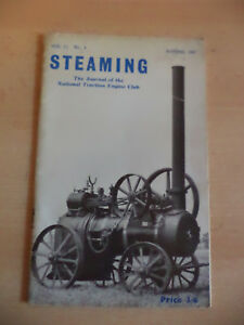 STEAMING OLD VINTAGE 1960S TRACTION STEAM ENGINE CLUB MAGAZINE AUTUMN 1967 - Devizes, United Kingdom - STEAMING OLD VINTAGE 1960S TRACTION STEAM ENGINE CLUB MAGAZINE AUTUMN 1967 - Devizes, United Kingdom