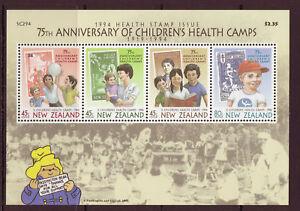 1994-New-Zealand-Health-Unmounted-Mint-M-S-Stamp-Set-UK-Seller