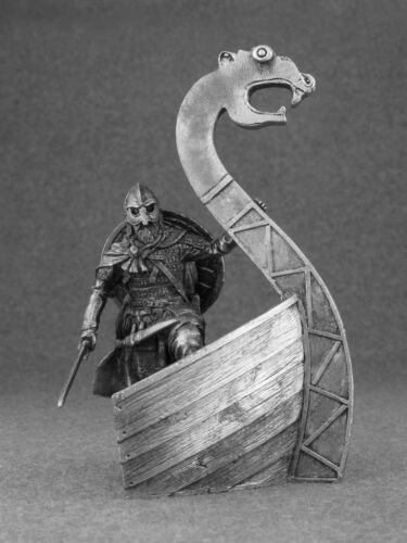 Viking 1//32 Action Figurine Handmade Tin Metal Antique Toy Soldier 54mm