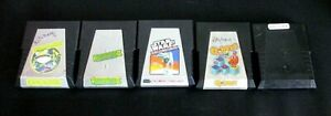Vintage-Atari-2600-Game-Cartridge-Lot-Of-5-All-Parker-Brothers-Frogger-1-amp-2