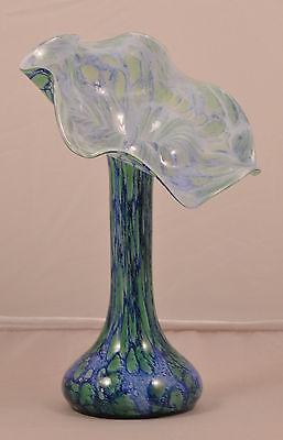 ZuverläSsig Traumhafte Glas Vase Volubilis La Rochere Frankreich Cristallierie France Glass