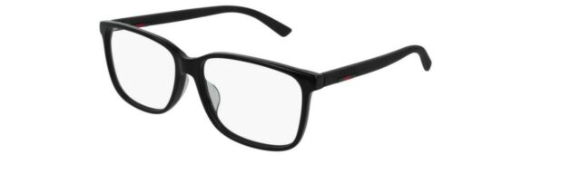 7e3ea1da87c1 Gucci Eyeglasses Gg0426oa 005 Black Frame 58mm for sale online | eBay