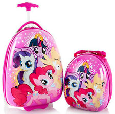 Heys America Luggage My Little Pony Kids Carry On Suitcase & Backpack 2 Pc Set