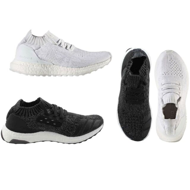 new product 90bd9 7fcda Adidas Boy's Big Kids Athletic Shoes Ultraboost Uncaged PrimeKnit Trail  Snekaers