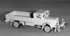 Z-scale-Nickel-Silver-etched-Kit-Rail-truck-034-VOMAG-034