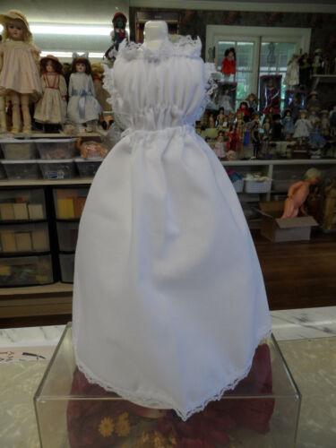"Chemise//Slip Set for 12/"" FRENCH Fashion Dolls  WHITE"