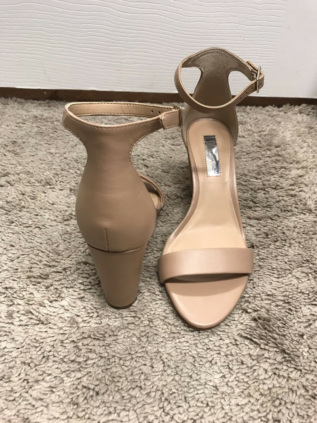 INC International International INC Concepts Kivah Nude damen schuhe 6.5 M Sandals MSRP  89.99 6e5513