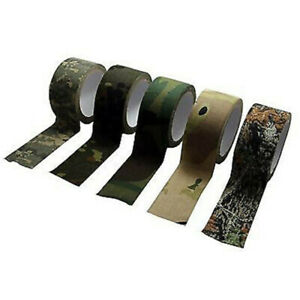 Self-adhesive-Camouflage-Wrap-Tape-Rifle-Gun-Hunting-Shooting-Stealth-Camo-Tape