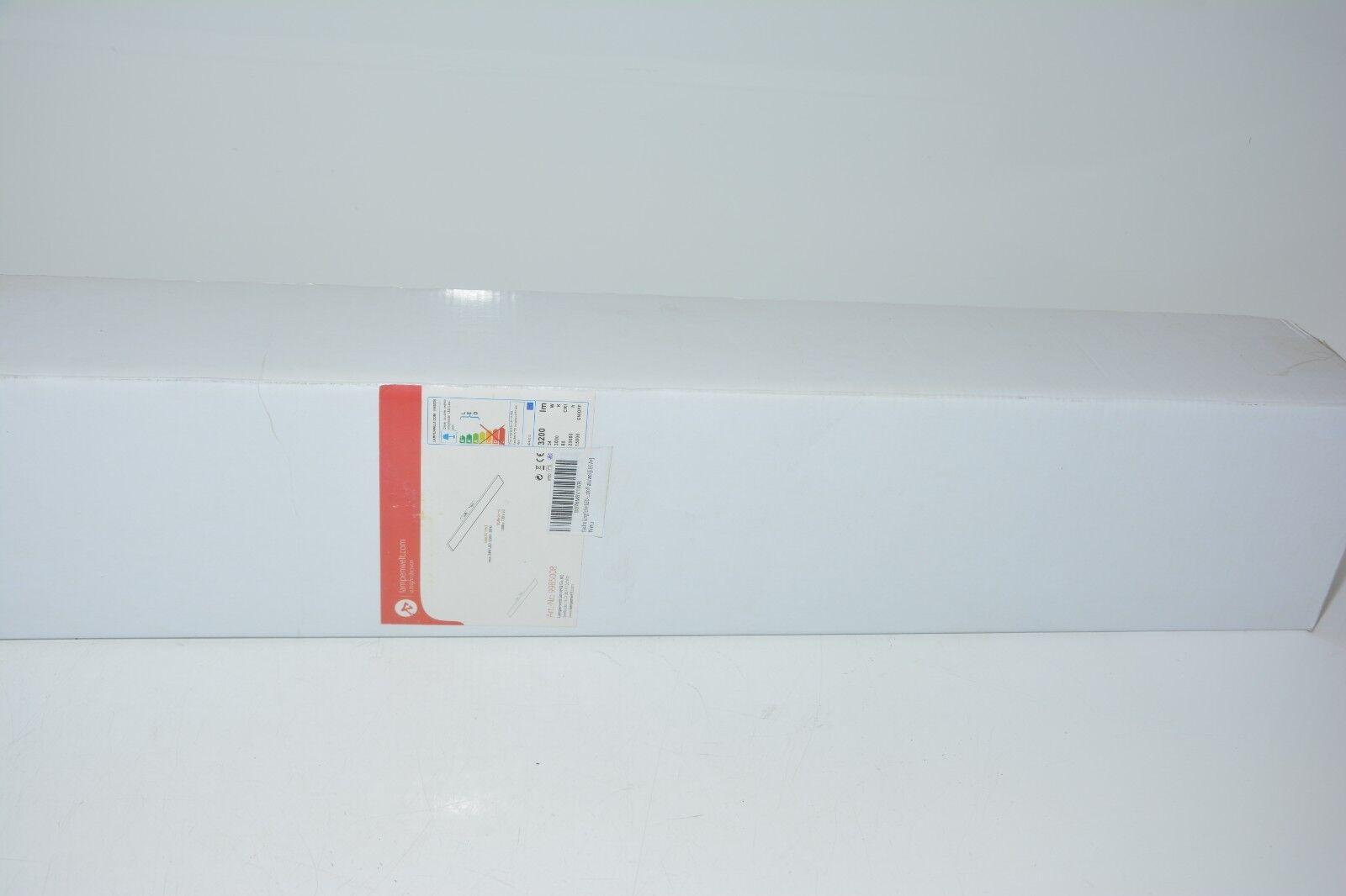 Lampenwelt flache längliche LED EEK+ Lampe 34W 230V Neu