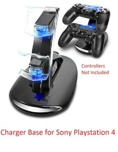 Dual Charger Station Charging Stand dock base For Playstation 4 PS4 Controller