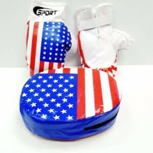 Kids Boxing Gloves MMA Sparring Training Gloves Punching Mitts UK
