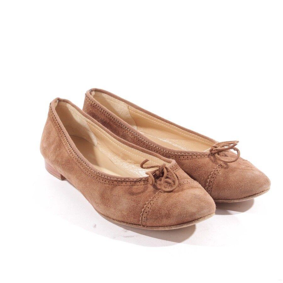 Unützer bailarinas gr. d 37,5 Flats marrón Zapatos señora zapatos Flats 37,5 zapatos dc6a69