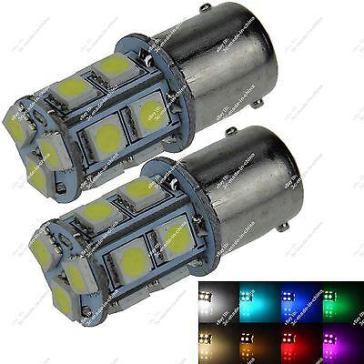 2X 1156 1141 P21W 13 SMD 5050 LED Turn Signal Light Lamp Parking Bulb Auto ZD003
