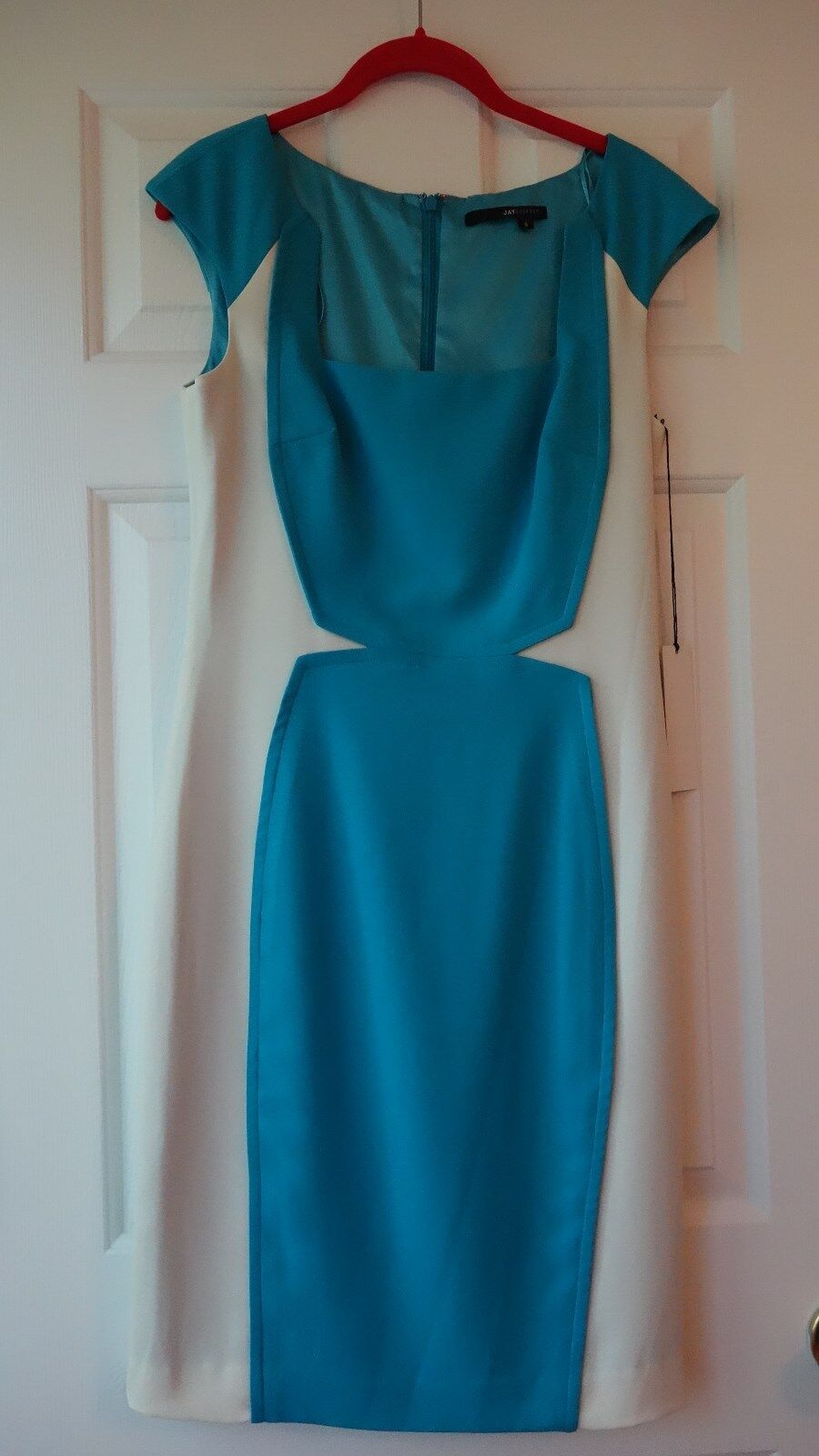 NEW JAY GODFREY   5% SPANDEX  WOMEN'S DRESS sz. 8