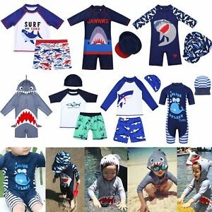 Kids-Baby-Boys-UV-50-Sun-Protection-Surfing-Bathing-Swimwear-Swimming-Costume
